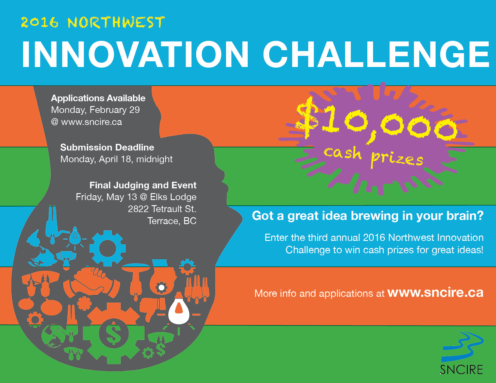 Save the Date Northwest Innovation Challenge Feb 23 2016